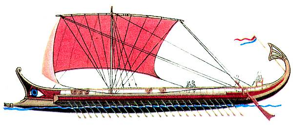 a history on the trireme a greek fighting ship Rodrigo santoro as xerxes in 300 rise of an empire 2014  greek trireme replica from battle of  persian battle trireme ship of imperial achaemenian navy.